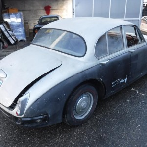 1966 Jaguar MK2 project car for sale