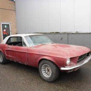 Ford Mustang '68 coupé