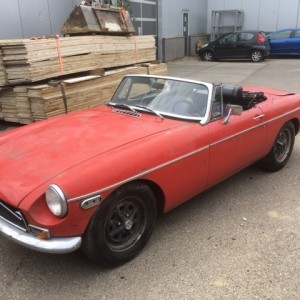 1972 MG B roadster for sale