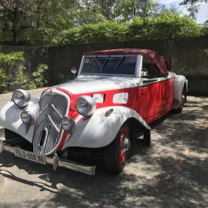 Citroën roadster 11B red/white