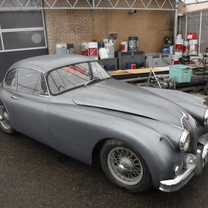 Jaguar XK 150 1958 (to restore!)