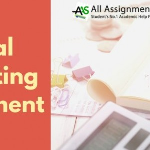 Financial Accounting Assignment Help Service